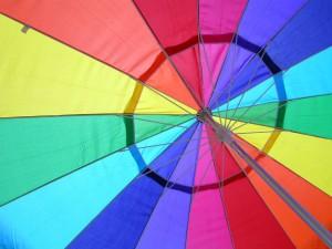 מטרייה גאווה קשת